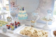 Frozen (Disney) Birthday Party Ideas | Photo 5 of 24 | Catch My Party