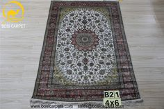 Hand knotted silk rug # Rug No.: P3214# Quality: 180L (225kpsi) # Size: 4X6ft (122X183cm) # Material: 100%Silk # wholesale Price: $840/piece # If you have any interests, please email to sales@bosicarpets.com   handmadesilkcarpet#handmadecarpet#handmaderug#silkrug#silkcarpet#carpet#carpets#rugs#silkcarpets#silkrugs#rug#persianrug#persian#handknottedrug#chineserug#turkeyrug#persianrug#persiancarpets#antique#arearug#yilongcarpet#wholesalerug#round#runner#carpets#bosicarpet#