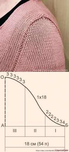 ru - Knitting and Crochet Baby Knitting Patterns, Knitting Stiches, Easy Knitting, Knitting Designs, Crochet Stitches, Knit Crochet, Crochet Clothes, Jack Sparrow, Baby Cardigan