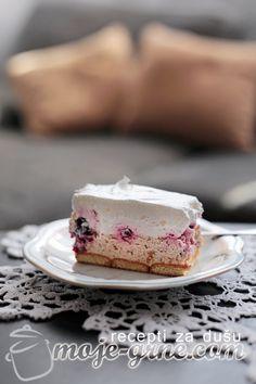 RECEPTI: kolaci i slana jela / Plazma torta sa višnjama