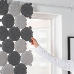 ODDLAUG Sound absorbing panel - gray - IKEA