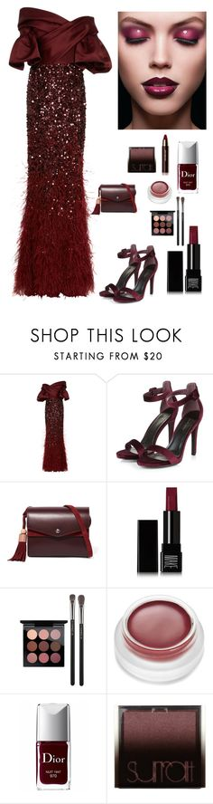 """""""Fitted to a Princess"""" by kotnourka ❤ liked on Polyvore featuring Elizabeth Kennedy, Elizabeth and James, Make, MAC Cosmetics, rms beauty, Christian Dior, Surratt and Hourglass Cosmetics"""