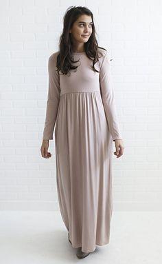 so good maxi dress - taupe
