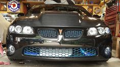 High Flow HSV Style upper and lower grills with the infamous Maverick Man Carbon Hood! 2006 Gto, Dodge Muscle Cars, Pontiac Grand Prix, Pontiac Gto, Station Wagon, Grills, Cool Cars, Flow, Automobile