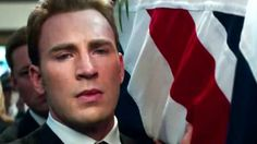 I hated this scene. The pain in Steve's eyes, the tears... His love for Peggy is ever-present.