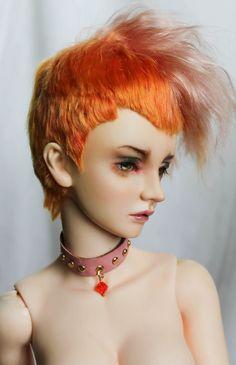 "https://flic.kr/p/xg68HM | Sorbet | New wig 8-9"". For sale more photos soon www.etsy.com/ru/listing/244912527/angora-mohair-wig-for-bjd"