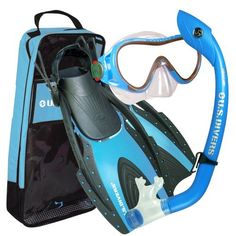 d12da1f2fd0 Amazon.com   U.S. Divers Youth Coral LX Mask with Island Dry Junior  Snorkel