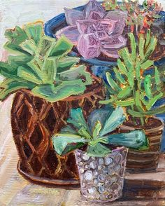 Gallery Website, Oil Painters, Fine Art Auctions, Wood Grain, Digital Image, Original Paintings, Succulents, Planter Pots, Colours