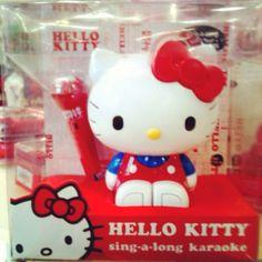 Hello Kitty karaoke