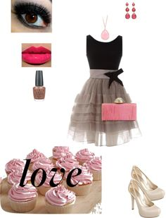 """chic w pink accessories"" by kari-d-nicholas on Polyvore"