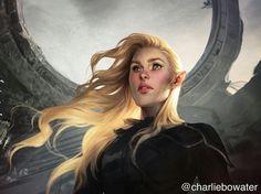 Aelin Ashryver Galathynius / ToG By Charlie Bowater