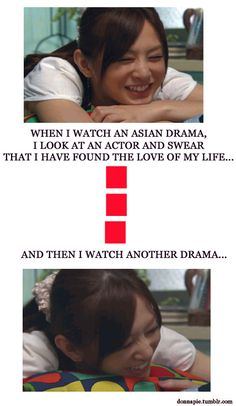 Cycle of Asian Drama Crushes. This used to be true for me, but now I have yet been unable to stop obsessing over this one actor. It doesn't matter if I watch other dramas that he's not even in, I can't stop!