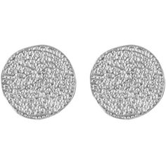 Karen Kane Sandy Beach Stud Earrings ($16) ❤ liked on Polyvore featuring jewelry, earrings, accessories, orecchini, silver, beach jewelry, silver tone earrings, disc earrings, karen kane and stud earring set