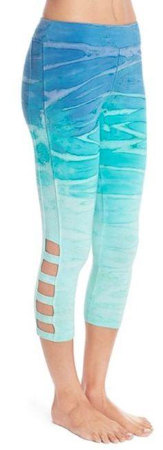 pretty ombre yoga pants