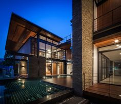 Junsekino Architect And Design completed the development of Bridge House, a contemporary family home in Bangkok, Thailand.