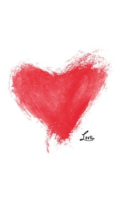love <3 red heart <3