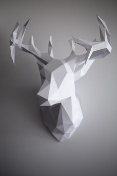DIY 3D Paper Reindeer Head (Just in time for Christmas!) — Apartment Therapy Reader Project Tutorials