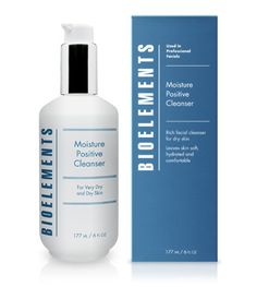Moisture Positive Cleanser - 35.  Gently cleanses dry skin  Comforts and hydrates  Used twice a day will last just under 4 months!  Dermatologist and clinically tested to be non-irritating