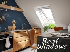 Fill your home with light by installing a Velux or Fakro roof window. Led Garage Lights, Garage Lighting, Attic Renovation, Attic Remodel, Attic Rooms, Attic Spaces, Best Wall Paint, Bathroom Dimensions, Roof Window