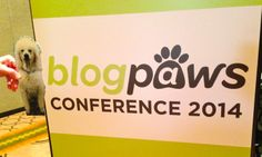 #blogpaws 2014. Flat Carma was there. Rock on, Carma. @Carma Poodale Allen