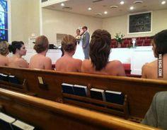 One of the many reasons I had my bridesmaids wear sleeves... hahaha