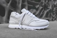 New Balance ML574 White Instinct