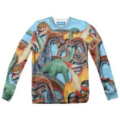 Toy Dinos Youth Sweater by Shelfies Youth, Sweatshirts, Toys, Fabric, Sweaters, Collection, Fashion, Tejido, Moda