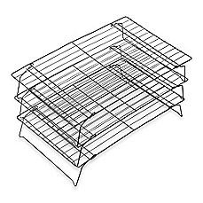 image of Wilton® Advance® 3-Tier Cooling Grid with Aluma-Gloss Coating™