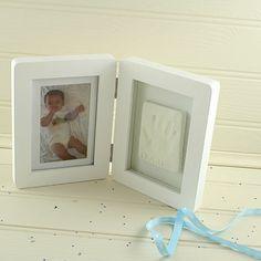 Baby Casting Imprint Kit & Photo Frame notonthehighstreet