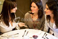 Women talking Royalty Free Stock Photo