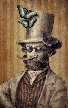 Eric Fan #Steampunk #Victorian #Surreal