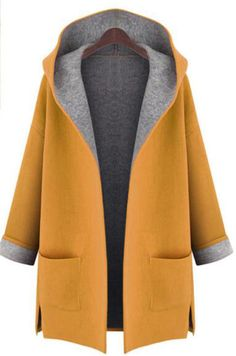 Cheap hooded cardigan, Buy Quality women winter directly from China cardigan hood Suppliers: New 2017 Large Size womens winter jackets and woolen coats hooded cardigan Windbreaker manteau femme show thin abrigos mujer Oversize Pullover, Coats For Women, Clothes For Women, Ladies Coats, Plain Hoodies, Stylish Plus, Stylish Coat, Plus Size Coats, Hooded Cardigan