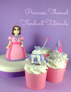 Princess Themed Fondant Tutorial - Princess Carriage - Bake Happy