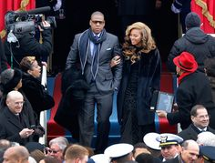 When Beyoncé first graced us with her presence. | The 22 Most Fabulous Beyoncé Moments From The Inauguration