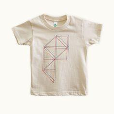 Geometrie 001 toddler t-shirt by Tiny Modernism