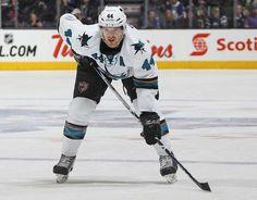 San Jose Sharks defenseman Marc-Edouard Vlasic (March 19, 2015).