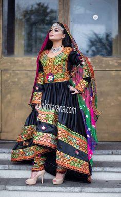 #black #Afghani #dress