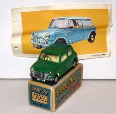 Tri-ang Spot-On, 211, Austin 7 Mini,    very rare