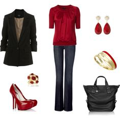 Daytime Glamour, created by archimedes16.polyvore.com