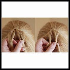 Abella's Braids: Twisted Ponytail Tutorial