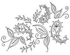 Black Paisley Pattern « Design Patterns