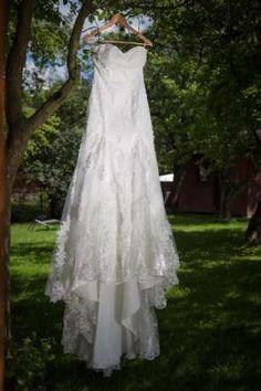 Nieużywana suknia ślubna!!! wzór Justin Alexander 8891, ivory, 38/176 Kraków - image 1