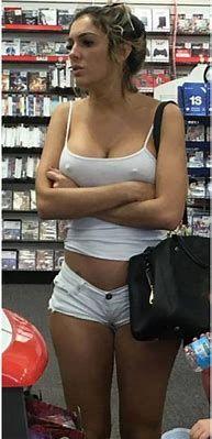 Nude oos in public