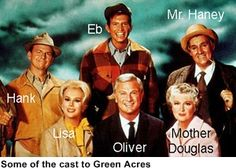 Green Acres is the place to be.  Faaa'arrm livin' is the life for me. Land spreadin' out so far and wide...keep Manhattin, just gimme the country side!  for60's tv shows |