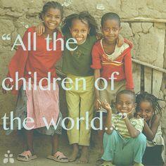 Jesus loves the little children of the world