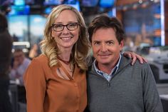 Anne Heche and Michael J. Fox