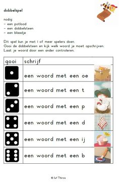 E-mail - astrid hermans - Outlook Learning Activities, Kids Learning, Visually Impaired Activities, Spelling For Kids, Learn Dutch, Teachers College, School Info, School Readiness, School Themes