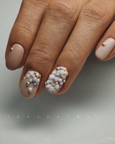 ・ 懐かしいデザインをさせて頂きました!! . もこもこネイル 粒の大きさを大きくしたり、カラーを変えたり アレンジは沢山出来そうだなと改めてまたデザインしてみようと思いました . . TRïNA @trina_by_bonnail # 027 # 097 . . . #JunJunNail#instanail#fashion#design#accessorynail#gelnail#naildesigns#accessory#bijounail#nailart#nails#nail#simplenails #네일#美甲#designer#Osaka#ネイル#ビジューネイル #アクセサリーネイル#ジェルネイル #シンプルネイル#3dネイル #冬ネイル #winternails #マットネイル#christmasnails #クリスマスネイル