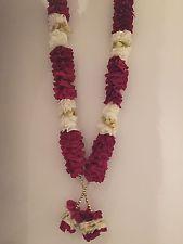 jaimala garlands images | ... INDIAN BOLLYWOOD WEDDING GROOM BRIDE GARLAND JAIMALA HAAR PINK & GREEN