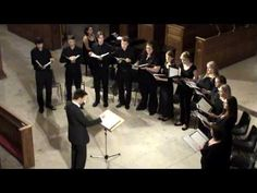 Vaughan Williams 'Full Fathom Five' - Sonitus Chamber Choir, conducted by Matthew Jelf - YouTube